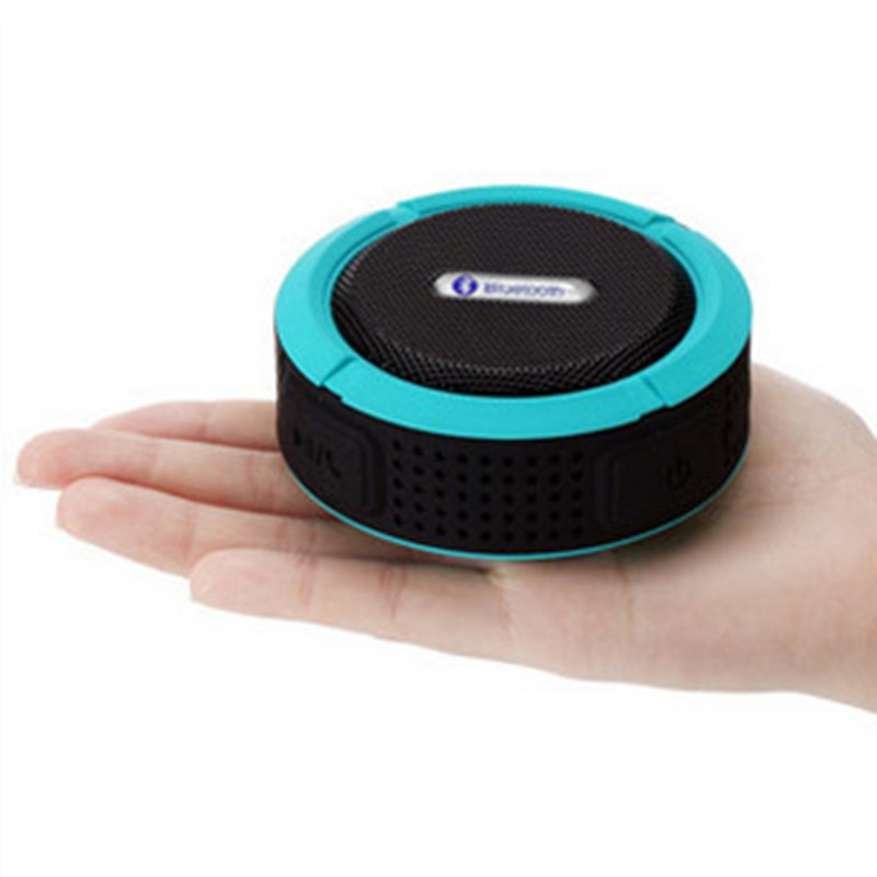 Bluetooth Speakers Waterproof Bluetooth Speaker Bass Wireless Bluetooth Speaker Portable red normal 3