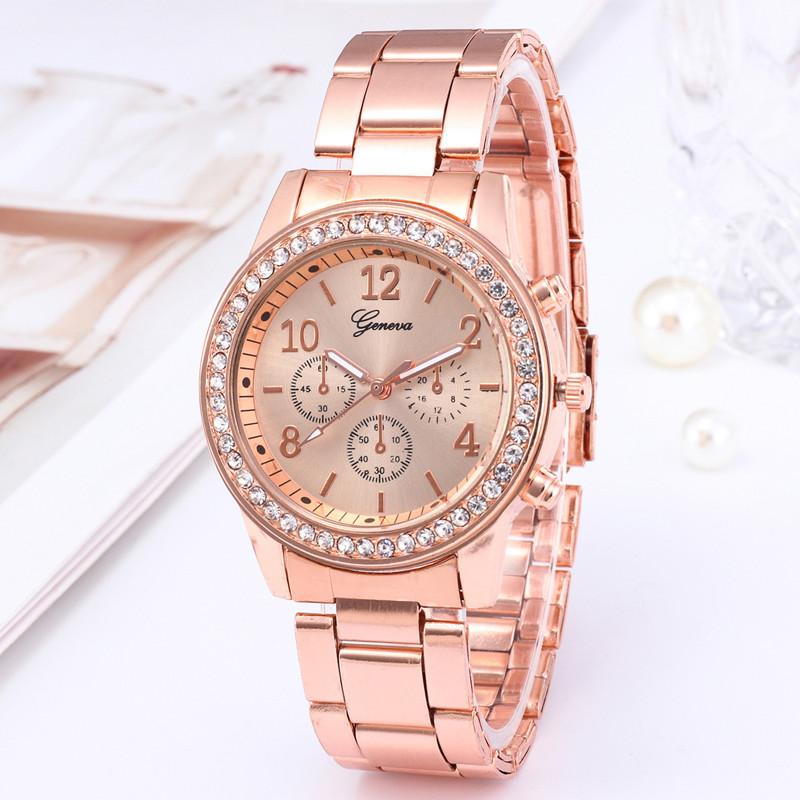 Watches Ladies Watches Women Wrist Watch Wristwatches Ladies Classic Luxury Quartz Watches For Women silvery normal 1