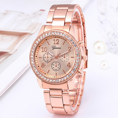 Watches Ladies Watches Women Wrist Watch Wristwatches Ladies Classic Luxury Quartz Watches For Women rose gold normal