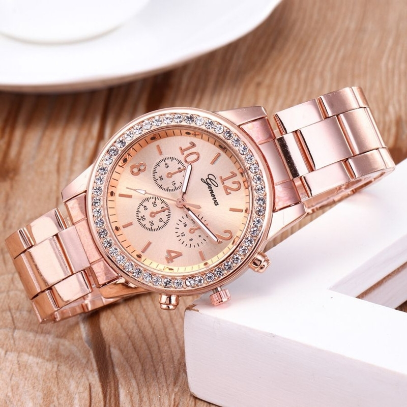 Watches Ladies Watches Women Wrist Watch Wristwatches Ladies Classic Luxury Quartz Watches For Women silvery normal 3