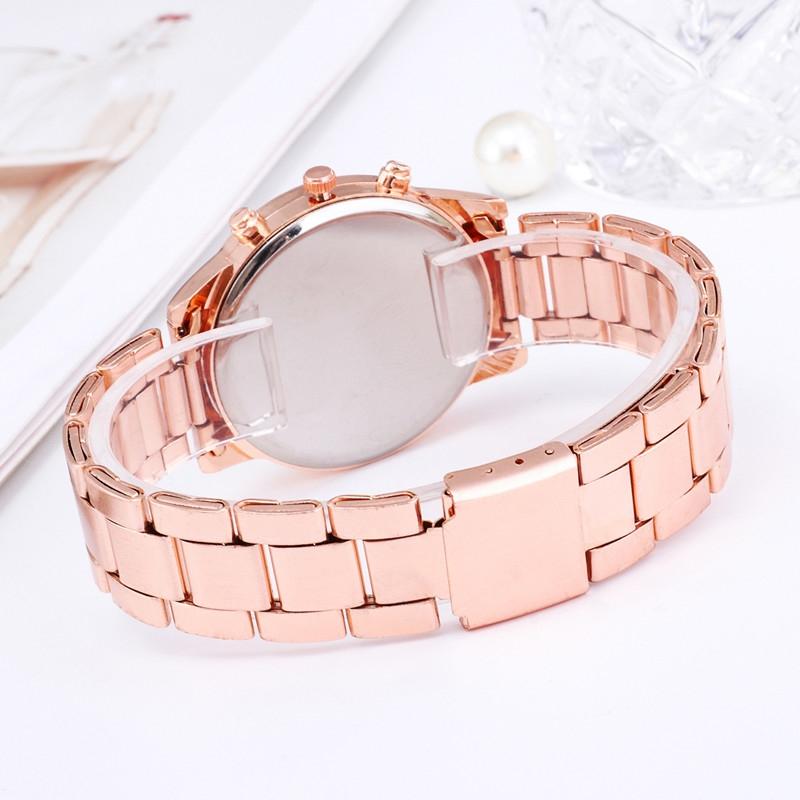 Watches Ladies Watches Women Wrist Watch Wristwatches Ladies Classic Luxury Quartz Watches For Women silvery normal 4