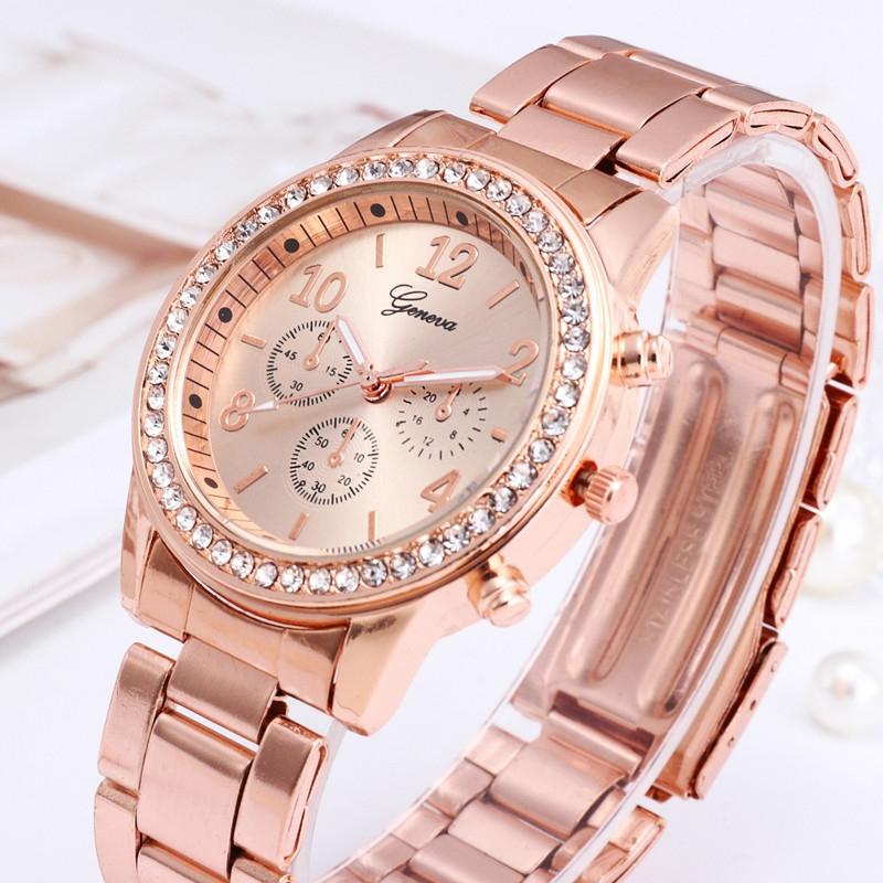Watches Ladies Watches Women Wrist Watch Wristwatches Ladies Classic Luxury Quartz Watches For Women silvery normal 5