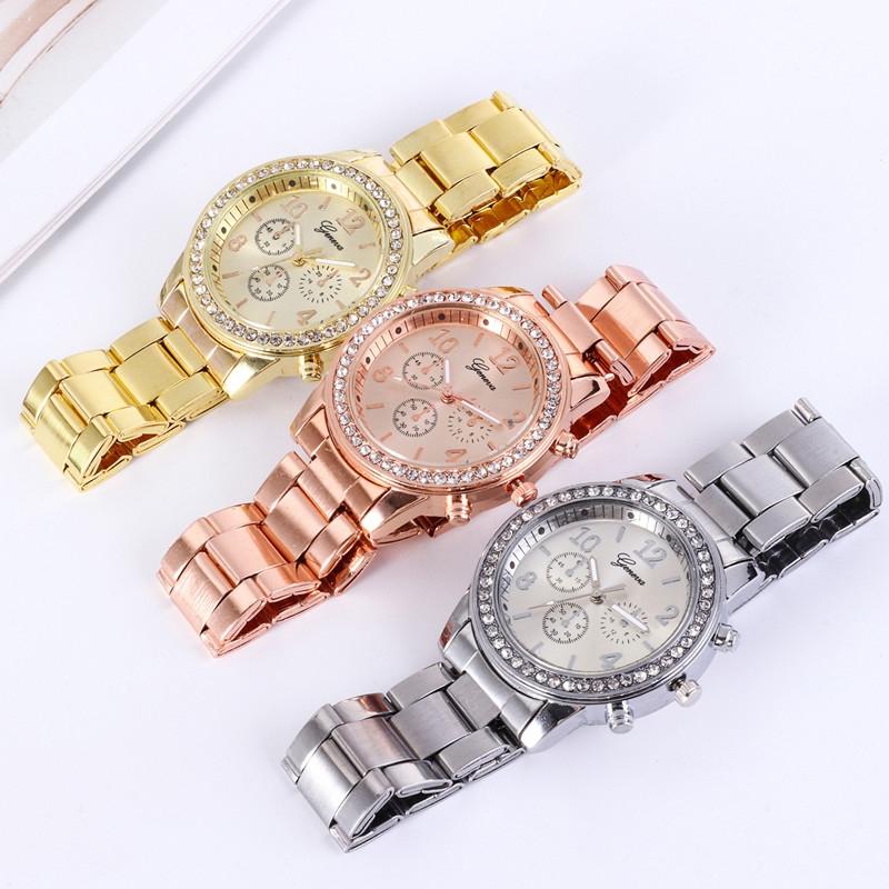 Watches Ladies Watches Women Wrist Watch Wristwatches Ladies Classic Luxury Quartz Watches For Women silvery normal 8