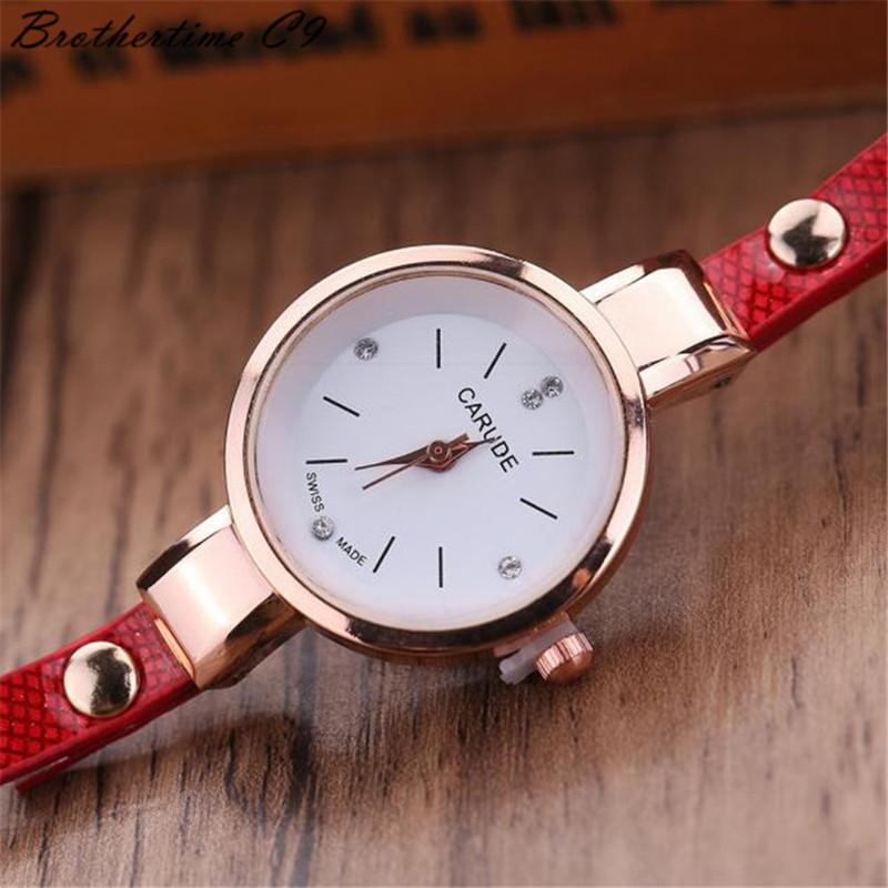 Watches Women Leather Rhinestone Decorative Wristwatches Ladies Pendant Quartz Watches Ladies beige normal 4