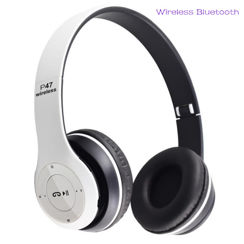 Bluetooth Headset Bluetooth Earphone Wireless Bluetooth Headset  Heavy Bass Headset black normal 1