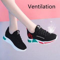 Women Shoes Ladies Shoes Women Shoe Ladies Sneakers Air-permeable Sports Shoes Ladies black 38