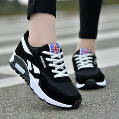 Shoes Women Shoes Ladies Women's Shoes Sports Shoes Breathable Running Shoes For Women black 37