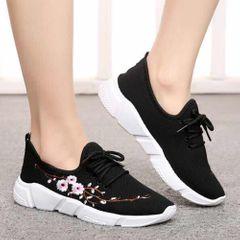 Women Shoes Ladies Shoes Sports Shoes Shoe Lady School Shoes Rubber Shoes Official Shoes Sneakers black 40