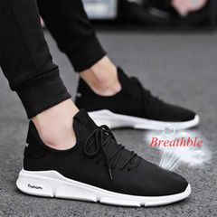 Shoes Men Sneakers Men Shoes Male Men Shoe Mens Shoes Men Mesh Shoes Men Sneakers For Men black 44