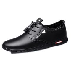 Men Shoes Men Shoe Leather Shoes Rubber Shoes Rack Wedding Shoes For Men Mens Shoes black 42 pu