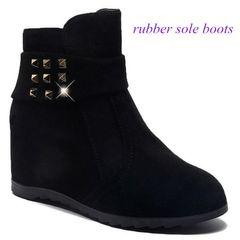 Women Boots Ladies Boots Shoes Women's Shoes Rubber Shoes Boots Lady Boots For Women Shoe black 39