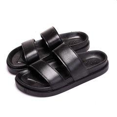 Slippers Men Shoes Shoe Men Shoes Mens Sandals Men And Slippers Men Wear-resistant Sandals For Men black 42