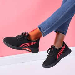 Sports Shoes Ladies Shoes Women School Shoes For Women Sneakers Ladies Shoe Lady Rubber Shoes red 39
