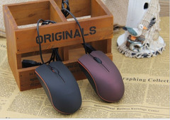 FL&S USB wired mouse  frosted M20 wired mouse For desktop business Laptop PC Tablet  one size purple one size