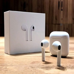 Mini Earbuds Wireless Bluetooth Headsets Headphons with Charging Box for Smartphon White