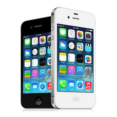 Refurbished Apple Iphone4s 16GB/32GB/64GB 8MP Camera GPS 3.5'' TouchScreen Used Phone Black 16G
