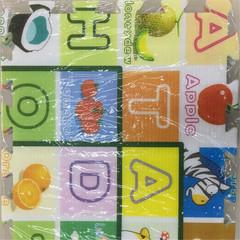 Environmental protection children's puzzle cartoon climbing pad splicing pad PE pad Puzzle cartoon pattern mix 1.5*45*12