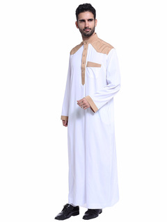 Muslim Arab Middle East men's robes suit white s