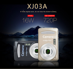 Canon camera digital camera camera 720P shooting card camera1600W black 1600W