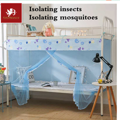 Hot student mosquito net to prevent insect mosquito malaria control encrypted mosquito net 1.4 m high(purple) width1.2m