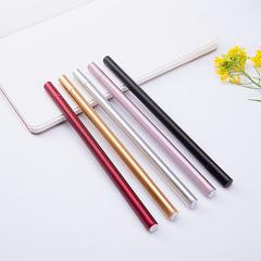 1PCS Pen Cheap pen black office pen student's pen gift pen black 0.5mm needle type