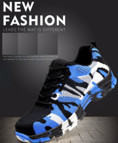 Labor liberation male students military training shoes wholesale site work slippery combat uniforms blue 35