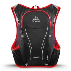 AONIJIE E906S 5L Upgraded Outdoor Running Marathon Reflective Backpack Hydration Vest Pack