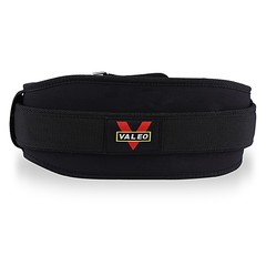 VALEO EVA Nylon Weight Lifting Squat Belt Lower Back Support for Gym Fitness Bodybuilding
