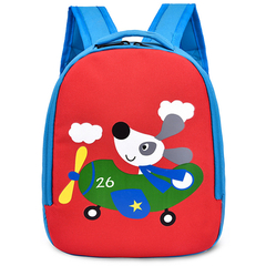 New Children's Bags Cute Backpack Fashion Casual Cartoon Baby Backpack Small Kindergarten Bag red