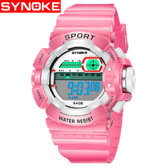 Children Watch Electronic Watches Are Waterproof and Fall - Proof Students Watch pink one size