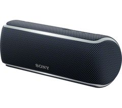 Sony SRS-XB22 Extra Bass Portable Waterproof Wireless Speaker with Bluetooth and NFC black one size
