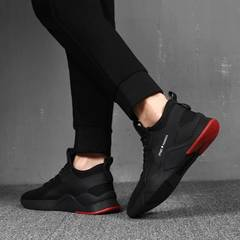 2019 Fashion Sneakers Men Casual Shoes Outdoor Sports Shoes Running Shoes Euro Size 39-44 black 39
