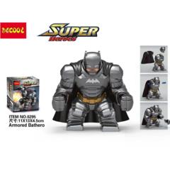 Children's toy blocks hand made armored batman puzzle 38pcs 38pcs