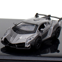 Rambo poison alloy car model car accessories decoration silvery 1:32
