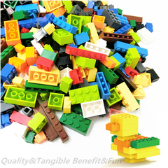 1000Pcs Building Blocks City DIY Creative Bulk Sets Compatible Legoings Classic Bricks Gift Toys as picture 200 pieces