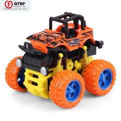 Toy Car Gift Mini Four-Drive Inertial SUV Shock Absorption Cross-Country Climbing Vehicle Model orange one size