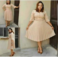 2019 new arrival fashion style elegent african women plus size dress xl Khaki