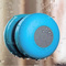 Mini Bluetooth wireless waterproof shower speaker phone MP3 Bluetooth receiver Handsfree Car Speaker blue Y6