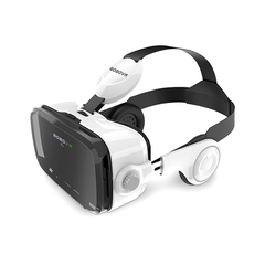 Original BOBOVR Z4 leather 3D virtual reality VR glasses with headphones for 4-6' mobile phone white 1 1