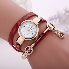 2019 new Ladies leisure watches hot style adult ladies leisure watches winding women watches gifts red one size