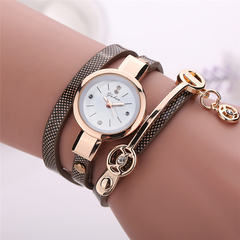 2019 new Ladies leisure watches hot style adult ladies leisure watches winding women watches gifts brown one size