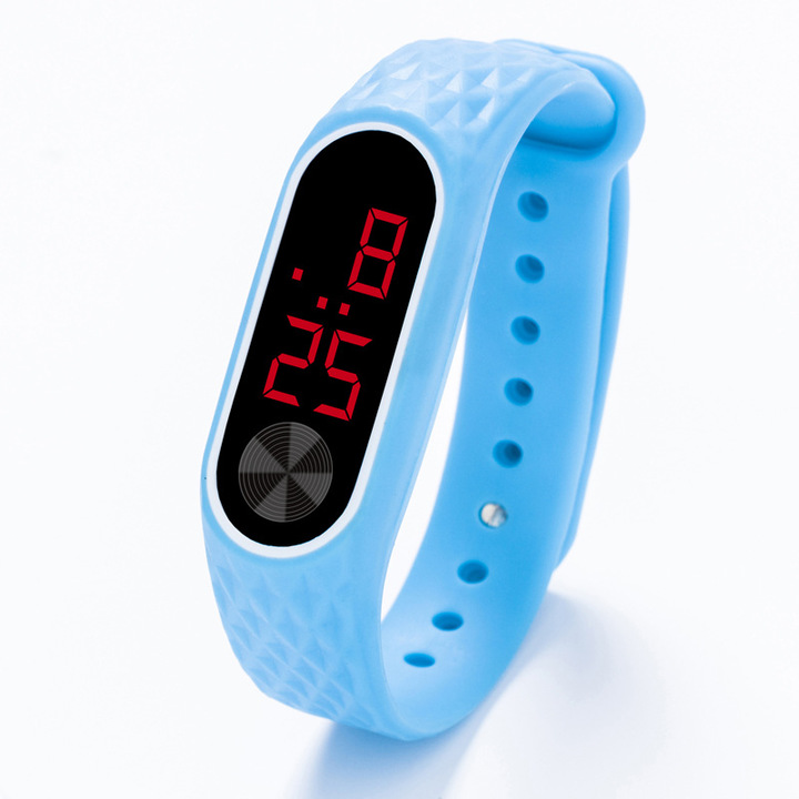 Childrens Watches Kids LED Digital Sport Watch for Boys Girls Men Women Electronic Wrist Watches sky blue one size