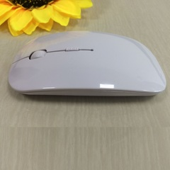 Ultra-thin cute mouse blue 2.4 g is suitable for the apple wireless mouse USB computer mini mouse white wireless