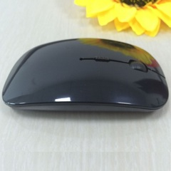 Ultra-thin cute mouse blue 2.4 g is suitable for the apple wireless mouse USB computer mini mouse black wireless