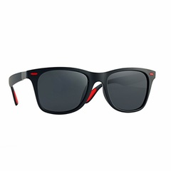 BRAND DESIGN Classic Polarized Sunglasses Men Women Driving Square Frame Sun Glasses Male Goggle C05 one size