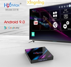 2019 H96 Max TV BOX web player android 9.0 4GB+32GB 4K  RK3318