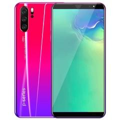 2019 P33 4g+64g+128G Memory card mobile phone 5.8inch  Face/Fingerprint 4G GPS dual SIM 8MP+16MP gules