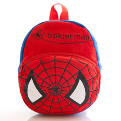 DORA 3D cute Cartoon Design backpack 1-4Y baby bags girls boys cute zoo school bags kindergarten bag Spider-Man
