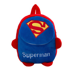 DORA 3D cute Cartoon Design backpack 1-7Y baby bags girls boys cute zoo school bags kindergarten bag Superman 30*22