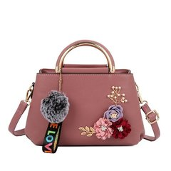 Super Fire 2019ins New Women's Bag Hand-held Simple Square Bag Trend One Shoulder Slant lotus root routine